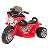 Rockin' Rollers Mini Three Wheel Police Chopper - Red