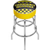 Waffle House Checkered Padded Swivel Bar Stool
