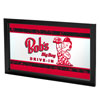 Bobs Big Boy Vintage Framed Logo Mirror