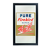 Pure Oil Framed Logo Mirror - Firebird