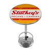 Stuckeys Vintage Chrome Pub Table