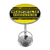 Waffle House Vintage Chrome Pub Table