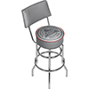 Coors Light Swivel Bar Stool with Back