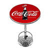 Coca-Cola Chrome Pub Table - 100th Anniversary of the Coca-Cola Bottle