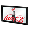 Coca-Cola Framed Mirror - 100th Anniversary of the Coca-Cola Bottle