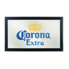 Corona Framed Mirror Wall Plaque 15 x 26 Inches - Logo
