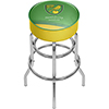 Premier League Norwich City Chrome Bar Stool with Swivel