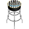 Premier League Newcastle United Chrome Bar Stool with Swivel