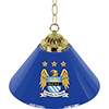 Premier League Manchester City Single Shade Brass Bar Lamp