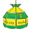 Premier League Norwich City 16 Inch Handmade Stained Glass Lamp