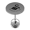 Premier League Swansea City Chrome Pub Table