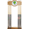 Premier League Norwich City Cue Rack with Mirror