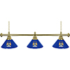 Premier League Manchester City 3 Shade Brass Bar Lamp