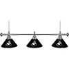 Premier League Swansea City 3 Shade Chrome Bar Lamp