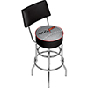 Corvette C6 Padded Bar Stool with Back