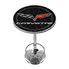 Corvette C6 Pub Table - Black