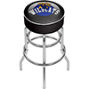 University of Kentucky Wildcats Chrome Bar Stool with Swivel-Honeycomb