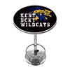 University of Kentucky Chrome Pub Table - Smoke