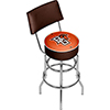 Bowling Green State University Bar Stool w/ Back