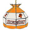 Bowling Green State University 16 Inch Stained Glass Lamp