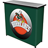 University of Miami Sebastian Portable Bar with Case - Honeycomb