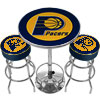 Ultimate NBA Indiana Pacers Gameroom Combo-2 Bar Stools & Table