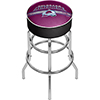 NHL Chrome Bar Stool with Swivel - Colorado Avalanche�