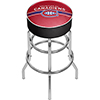 NHL Chrome Bar Stool with Swivel - Montreal Canadiens�