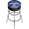 NHL Chrome Bar Stool with Swivel - Tampa Bay Lightning�
