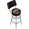 NHL Swivel Bar Stool with Back - Boston Bruins�