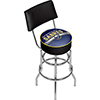 NHL Swivel Bar Stool with Back - Buffalo Sabres�