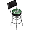 NHL Swivel Bar Stool with Back - Dallas Stars�