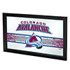 NHL Framed Logo Mirror - Colorado Avalanche�