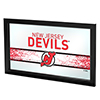 NHL Framed Logo Mirror - New Jersey Devils�