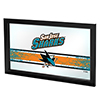 NHL Framed Logo Mirror - San Jose Sharks�
