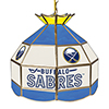 NHL 16 Inch Handmade Stained Glass Lamp - Buffalo Sabres�