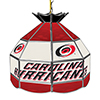 NHL 16 Inch Handmade Stained Glass Lamp - Carolina Hurricane�