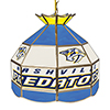 NHL 16 Inch Handmade Stained Glass Lamp - Nashville Predators�
