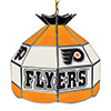 NHL 16 Inch Handmade Stained Glass Lamp - Philadelphia Flyers�