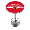 NHL Chrome Pub Table - Chicago Blackhawks�