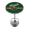 NHL Chrome Pub Table - Minnesota Wild�