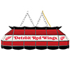 NHL Handmade Stained Glass Lamp - 40 Inch - Detroit Redwings�