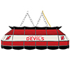 NHL Handmade Stained Glass Lamp - 40 Inch - New Jersey Devils�