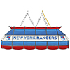 NHL Handmade Stained Glass Lamp - 40 Inch - New York Rangers�