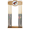 NHL Cue Rack with Mirror - Arizona Coyotes�