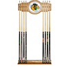 NHL Cue Rack with Mirror - Chicago Blackhawks�