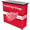 NHL Portable Bar with Case - Detroit Redwings�