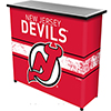 NHL Portable Bar with Case - New Jersey Devils�
