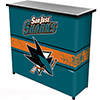 NHL Portable Bar with Case - San Jose Sharks�