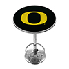University of Oregon Chrome Pub Table - Carbon Fiber
